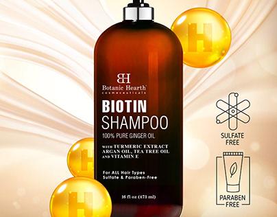 Biotin Shampoo (16 fl oz)