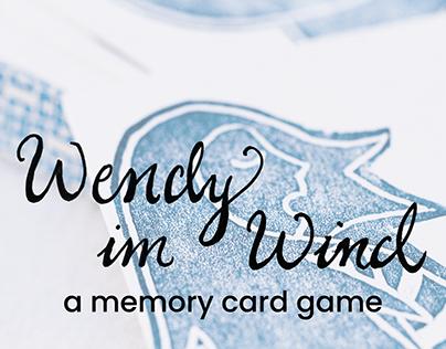 Wendy im Wind