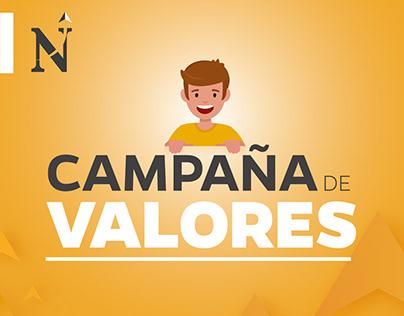 UPN - Campaña de valores