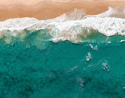 Calming Ocean Views By Ricardo Quarrie