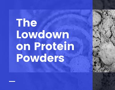 The Lowdown On Protein Powders | Richard Greathead