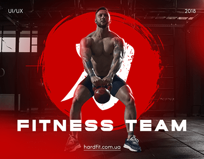 HardFit — Corporative Page for Fitness Team
