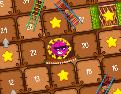 Board game about the Coronavirus