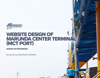 Marunda Center Terminal (MCT Port) Website