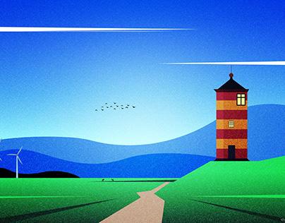 Light House - Pilsum