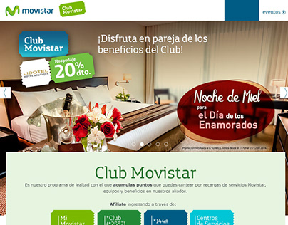 Website Club Movistar
