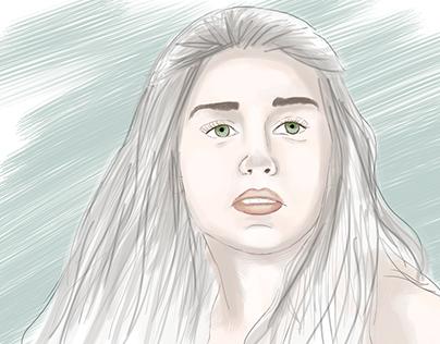 Woman İllüstration