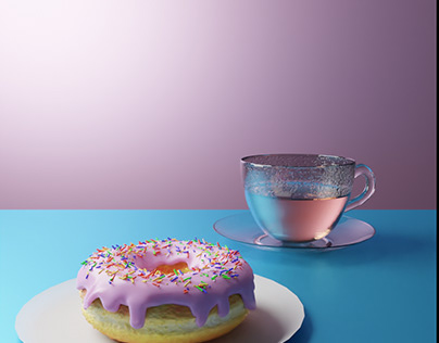 Donut & Cup