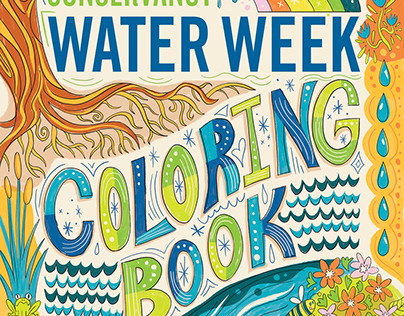 Water Week Coloring Book