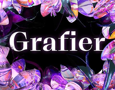 Grafier Serif Typeface | Variable Font Family