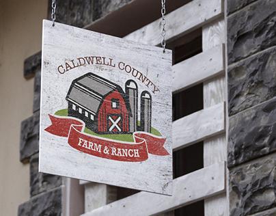 Branding Design: Caldwell County Farm & Ranch