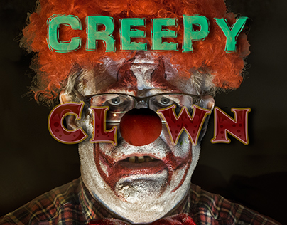"""Creepy Clown"" the Novel by Vance Mellen: on Amazon"