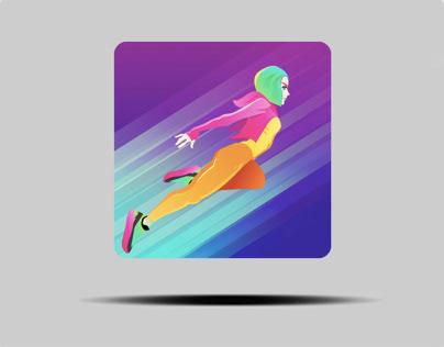 LightBlade Runner iOS Game