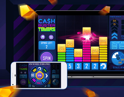 Instant Win Gaming: visual identity and design
