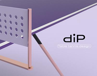 DIP · Table tennis design