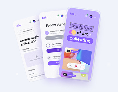 Halo | Crypto NFT Marketplace