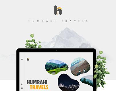 Humrahi Travels, Website Design