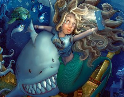 Deep Blue Selfie