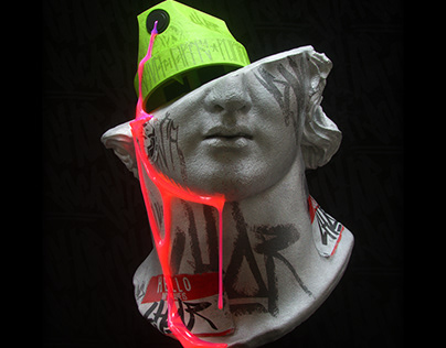 Fragmentary Colossal HeadCap