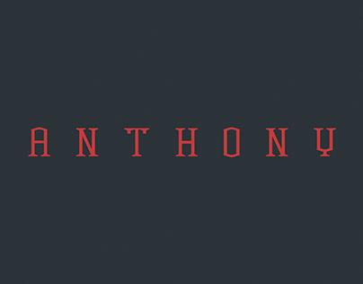 Anthony - Font