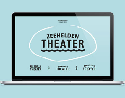 Identity / website for Zeeheldentheater