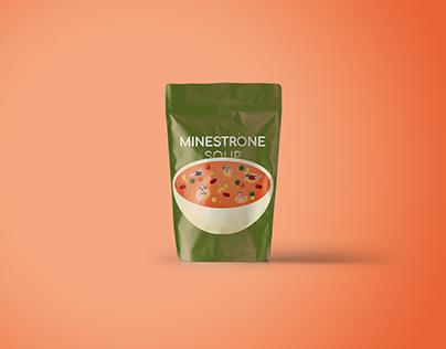 'Comfort foods' Product Illustrations