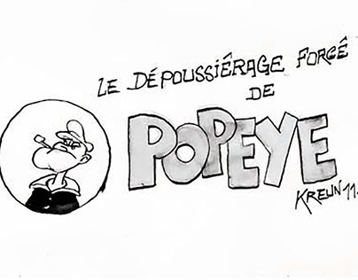 24h de la bande dessinée 2011 - Popeye.