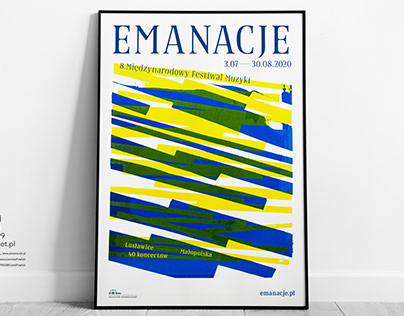 EMANACJE - competition poster