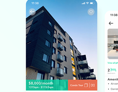 RENT APP SCREEN