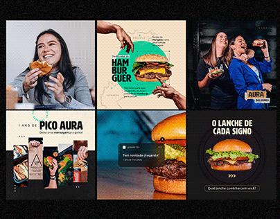 Social Media Pico Aura