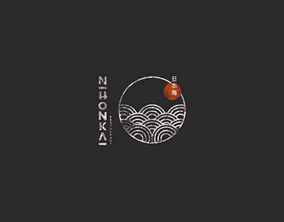 Nihonkai Japanese Restaurant Logo Design
