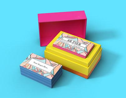 Free* JukeBox Business Card Mockup