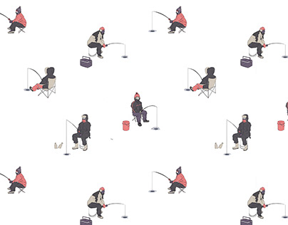 Ice Fishing - Pattern