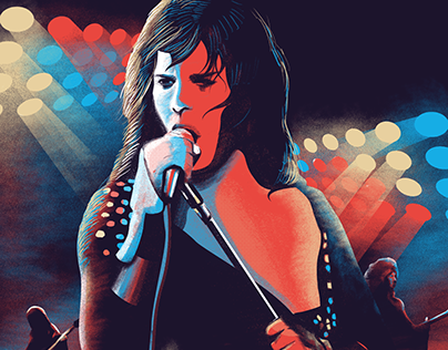 Live at the Rainbow - Queen / Illustration