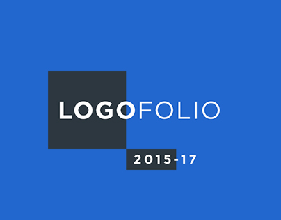 Logofolio | 2015-17