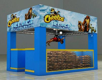 cheetos claw machine
