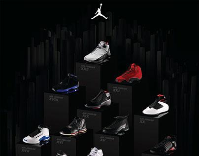 Jordan XXII - Anniversary poster