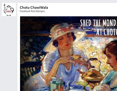 Chotu ChaiWala - Facebook Post Designs