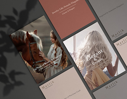 Brochure Design for Jewelry Shop