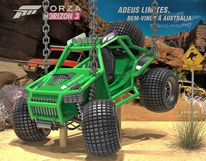 Xbox Forza Horizon 3 - Lançamento