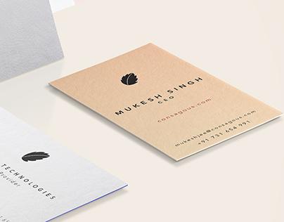 Consagous Business Card Design