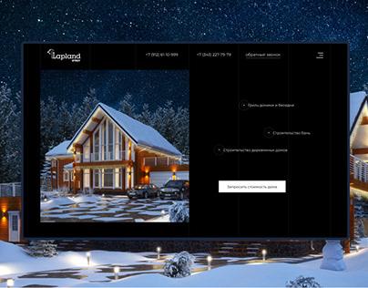 Construction of Scandinavian wooden houses