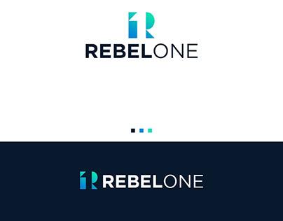 Rebel One Logo Design