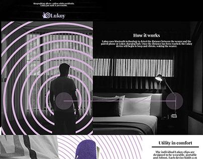 Lukoy Anti-Sleepwalking device poster