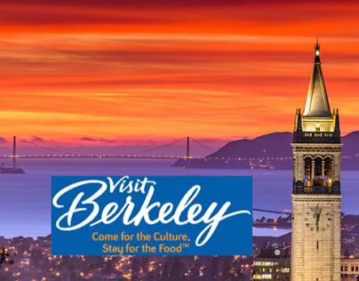 Berkeley Vistors' and Convention Bureau Website