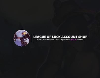 League Of Legends Account Shop - Thread Design