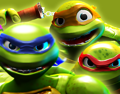 TMNT - Mean green and unseen :)