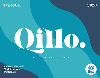 Qillo Serif by Type&Co.