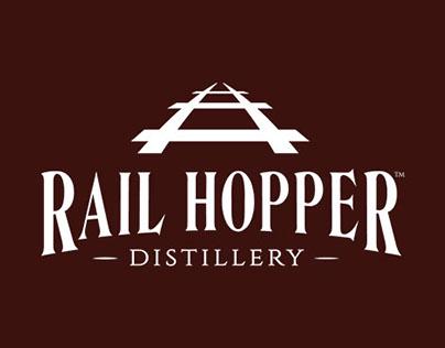 Rail Hopper Distillery Branding