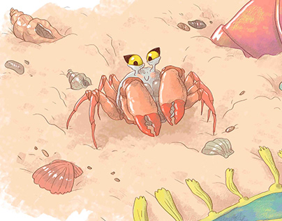 Keya's Day at the Beach - StoryWeaver